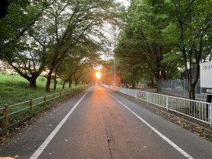 熊谷市の夕焼け