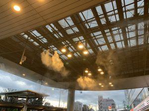 熊谷市南口ミストの写真